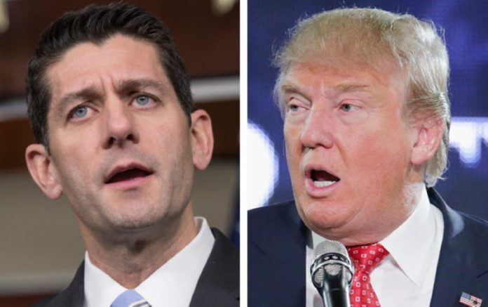 Paul Ryan Turns his Back on Trump