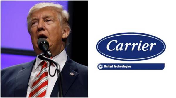 Trump Reaches Deal with Carrier to Keep Jobs in Indiana