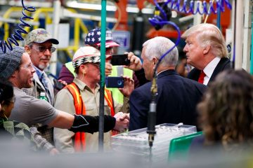 january jobs numbers 2017, president trump, manufacturing jobs, government jobs