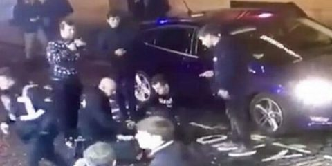 Horrific Christmas Eve Hit-and-Run Terror Attack in England Caught on Video
