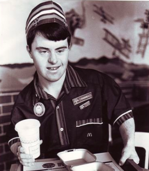 McDonald's Employee With Down Syndrome