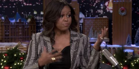 During her media tour to promote her memoir, Michelle Obama disrespects President Trump, First Lady Melania and the entire Trump presidency.