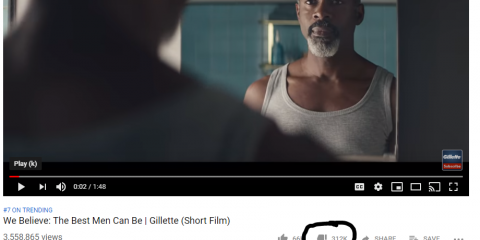 Gillette's Anti-Men Ad