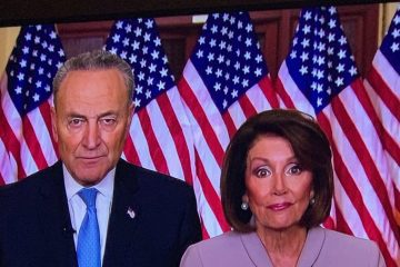 Pelosi and Schumer Responded to Trump's Speech