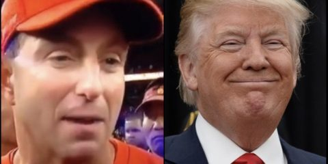 President Trump Plans to Treat National Champion Clemson With Fast Food Buffet