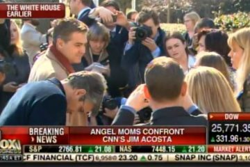jim acosta confronted by angel moms