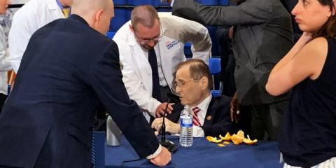 House Judiciary Chairman Jerry Nadler Passes Out