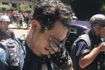 Conservative Writer Andy Ngo Assaulted