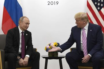 Don't Meddle in the Election, Trump Putin