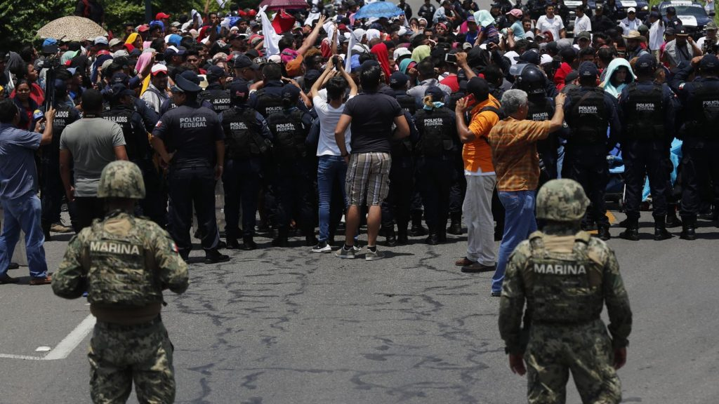 Mexico Deploys Military to Stop Migration
