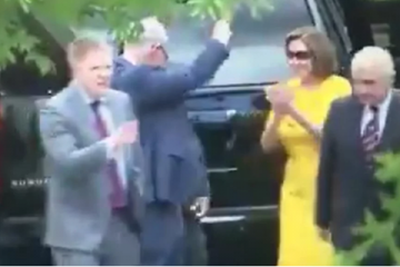 Nancy Pelosi and Chuck Schumer Dancing