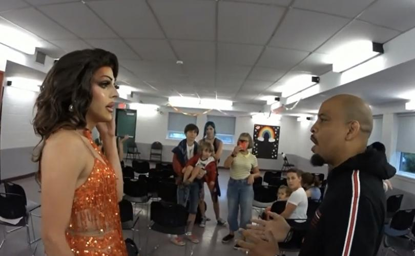 Preacher Confronts Drag Queen During Story Time