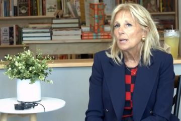 jill biden swallow a little bit