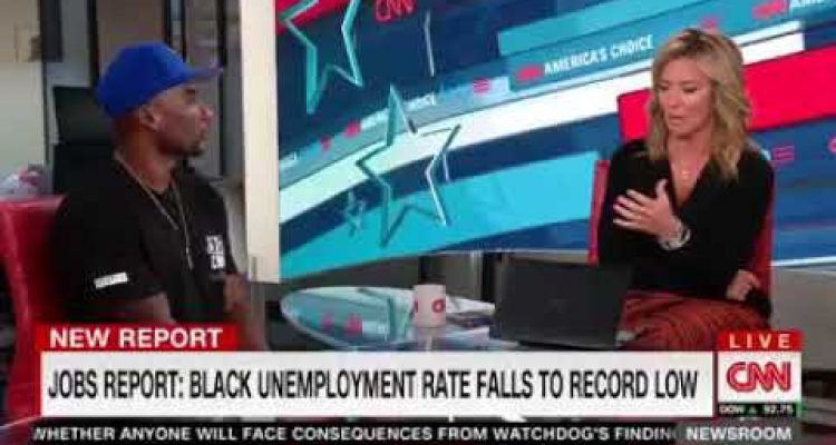 CNN Guest Says Trump Will Put Black People in Cages