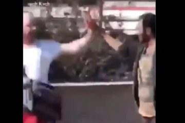 islamic killer stabbing spree high five