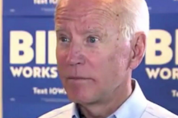 joe biden stumped