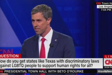 Beto O'Rourke Threatens to Pull Tax-Exempt Status from Religious Institutions