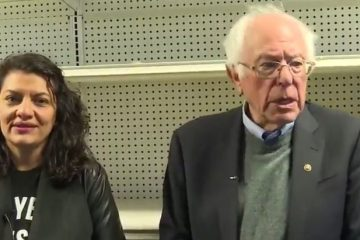 bernie sanders empty shelves