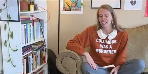 columbus was a murderer sweater