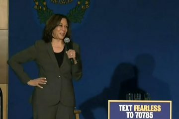 kamala harris nevada town hall