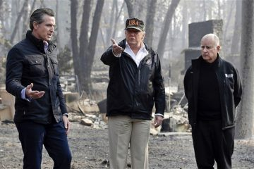 President Trump wildfires