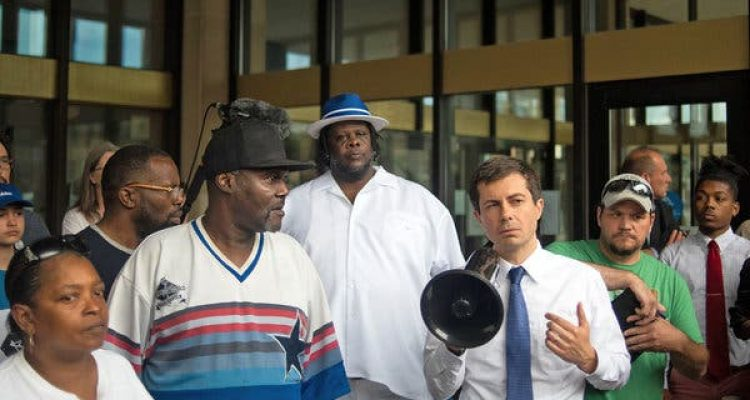 pete buttigieg black people
