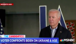 Biden Tells Man 'You're Too Old to Vote for Me', Challenges Him to Push-Up Contest