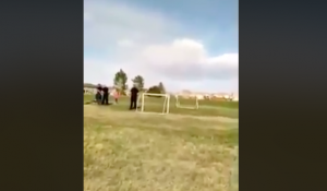 Watch: Father Arrested for Throwing Ball with Daughter Outside
