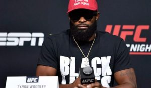 UFC's Woodley Wears Fake MAGA Hat to Mock Opponent, Then Loses