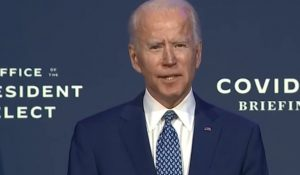 Biden Struggles Through Speech: 'Once again the American America, the Will of the People Prevailed'