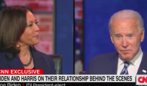 Watch: Biden Says if He and Kamala Disagree, He'll 'Develop Some Disease and Resign'