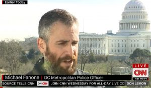 Watch: DC Officer Says Capitol Rioters Tried to Kill Him with His Own Gun