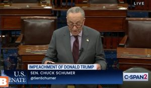 Freudian Slip? Schumer Says Trump Incited an 'Erection' (VIDEO)