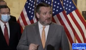 WATCH: Vaccinated Cruz SHUTS DOWN Reporter Who Asks Him to Wear a Mask - 'You Can Leave'
